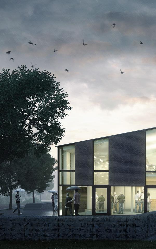Visualisatie nieuw ontwerp Koningskerk Zwolle-Zuid