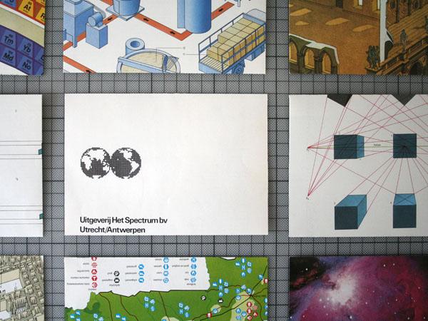 Envelope gemaakt van een bladzijde uit de Spectrum Encyclopedie