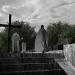 de begraafplaats / the cemetery